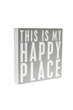 Shoptiques Product: Happy Box Sign