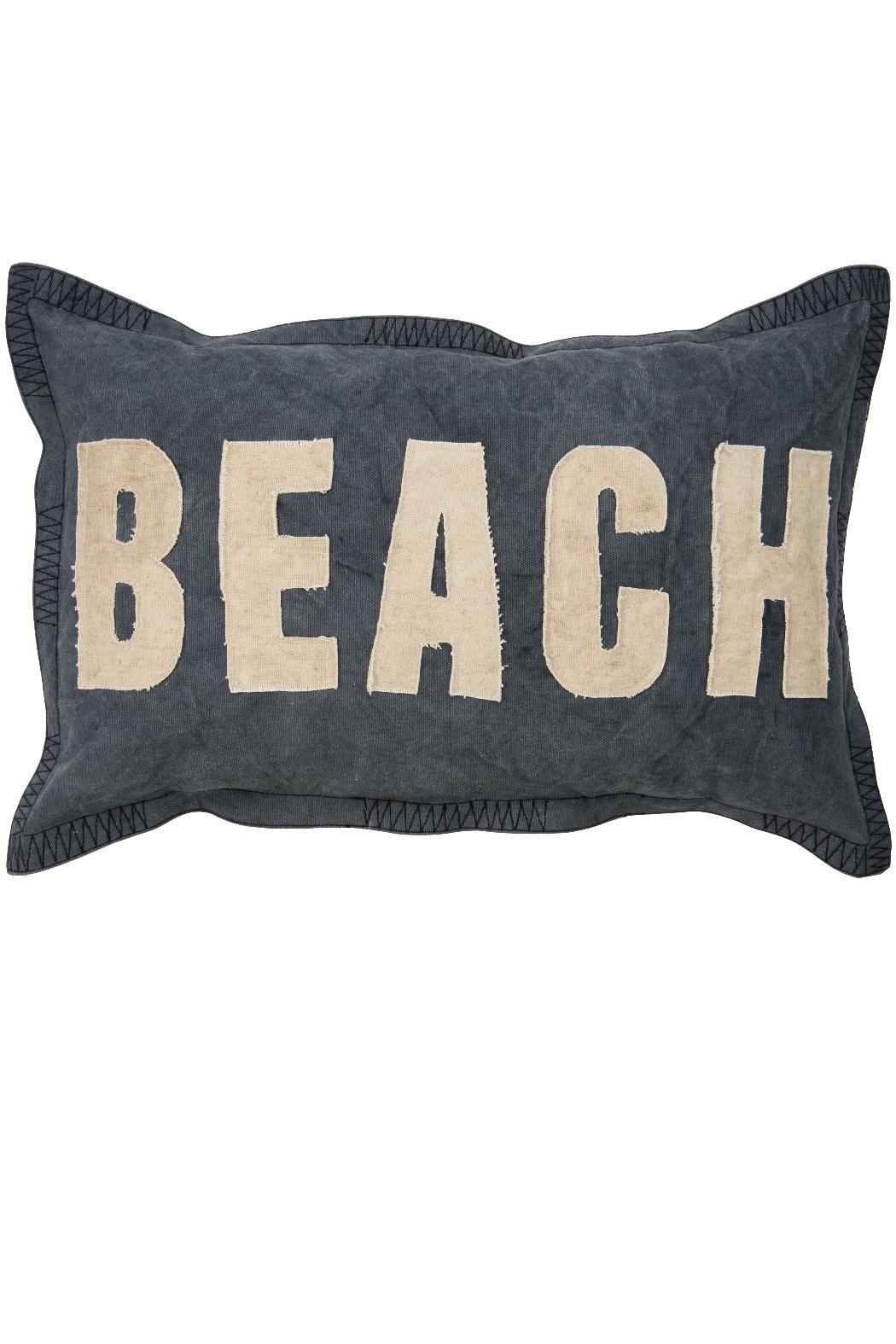 Primitives by Kathy Beach Throw Pillow - Main Image