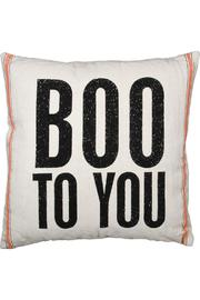 Shoptiques Product: Boo Linen Pillow - Front cropped