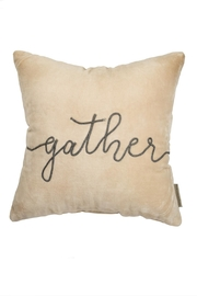 Primitives by Kathy Gather Velvet Pillow - Front cropped