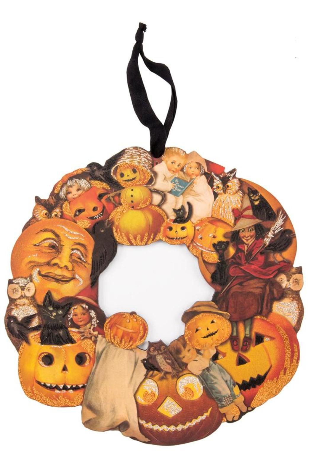 Primitives By Kathy Halloween Vintage Wreath From Boulder
