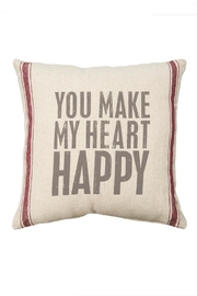 Primitives by Kathy Heart Happy Pillow - Product Mini Image