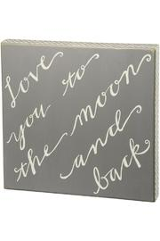 Shoptiques Product: Love Box Sign
