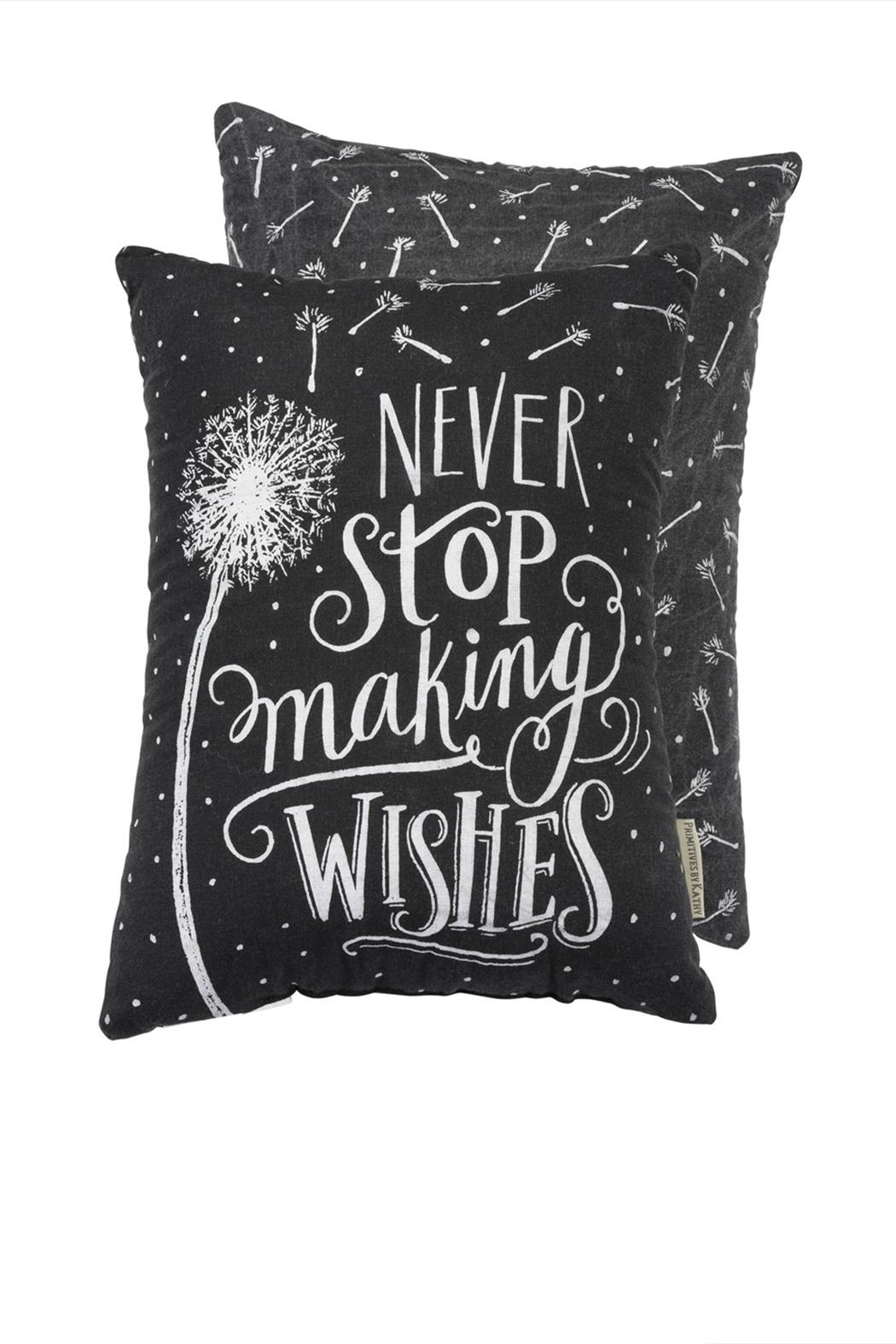 Primitives by Kathy Making Wishes Pillow - Main Image
