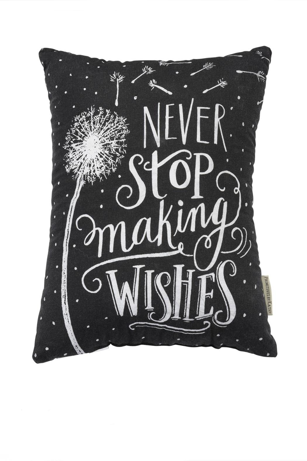 Primitives by Kathy Making Wishes Pillow - Front Full Image