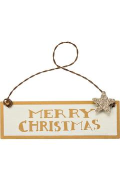 Primitives by Kathy Merry Christmas Ornament - Alternate List Image