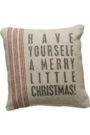 Primitives by Kathy Merry Christmas Pillow - Product Mini Image
