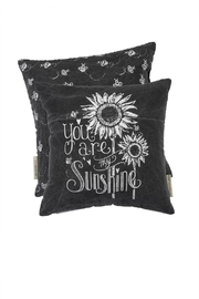 Primitives by Kathy Sunflower Sunshine Pillow - Front cropped
