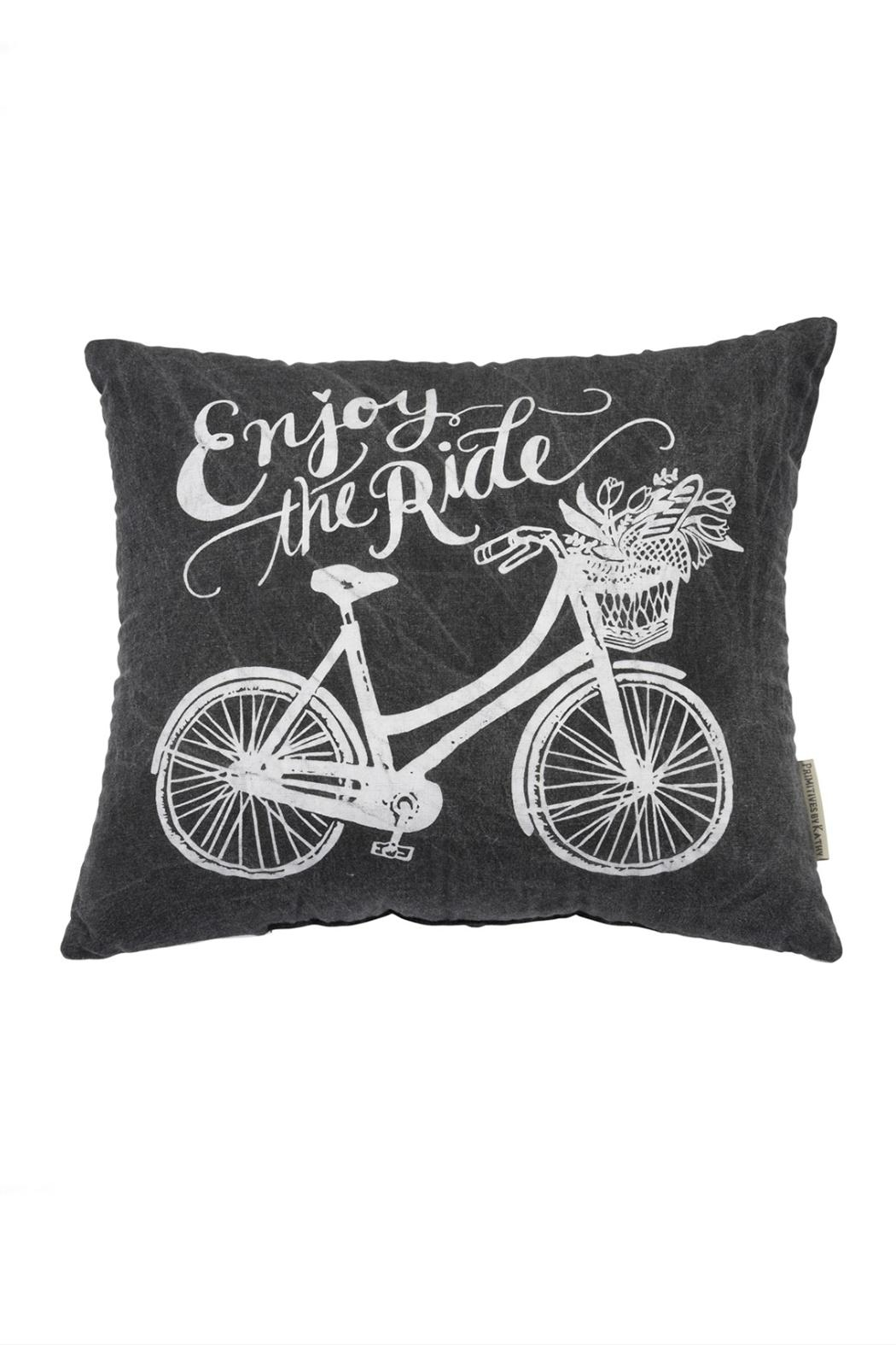 Primitives by Kathy The Ride Pillow - Front Full Image