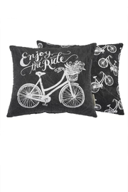 Primitives by Kathy The Ride Pillow - Front cropped