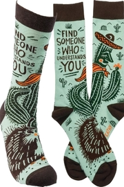 Primitives by Kathy Understands You Sock - Product Mini Image