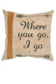 Primitives by Kathy Where You Go Pillow - Product Mini Image