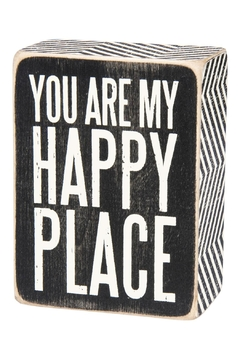 Primitives by Kathy Happy Place Decorative Box - Alternate List Image