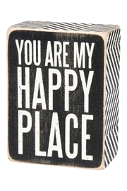 Primitives by Kathy Happy Place Decorative Box - Product Mini Image