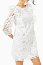 Lilly Pulitzer  Primm Eyelet Dress - Front cropped