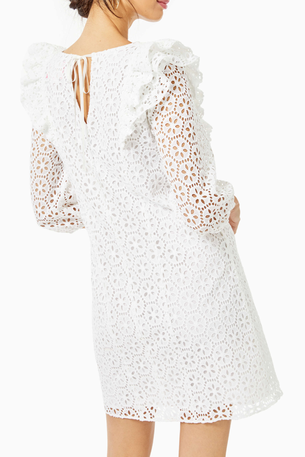 Lilly Pulitzer  Primm Eyelet Dress - Front Full Image