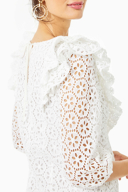 Lilly Pulitzer  Primm Eyelet Dress - Side cropped