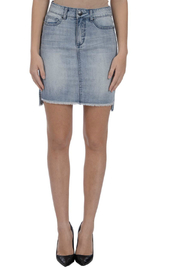 Lola Jeans Primrose HiLo Denim Skirt - Product Mini Image