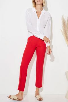Ecru Prince Cropped Flare Pant - Product List Image