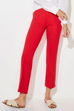 Ecru Prince Cropped Flare Pant - Alternate List Image