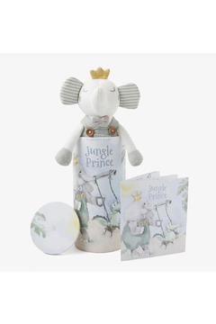 Shoptiques Product: Prince Elephant Baby Knit Toy w/ Book