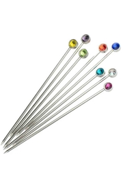 Prince of Scots Crystal Cocktail Picks - Side cropped