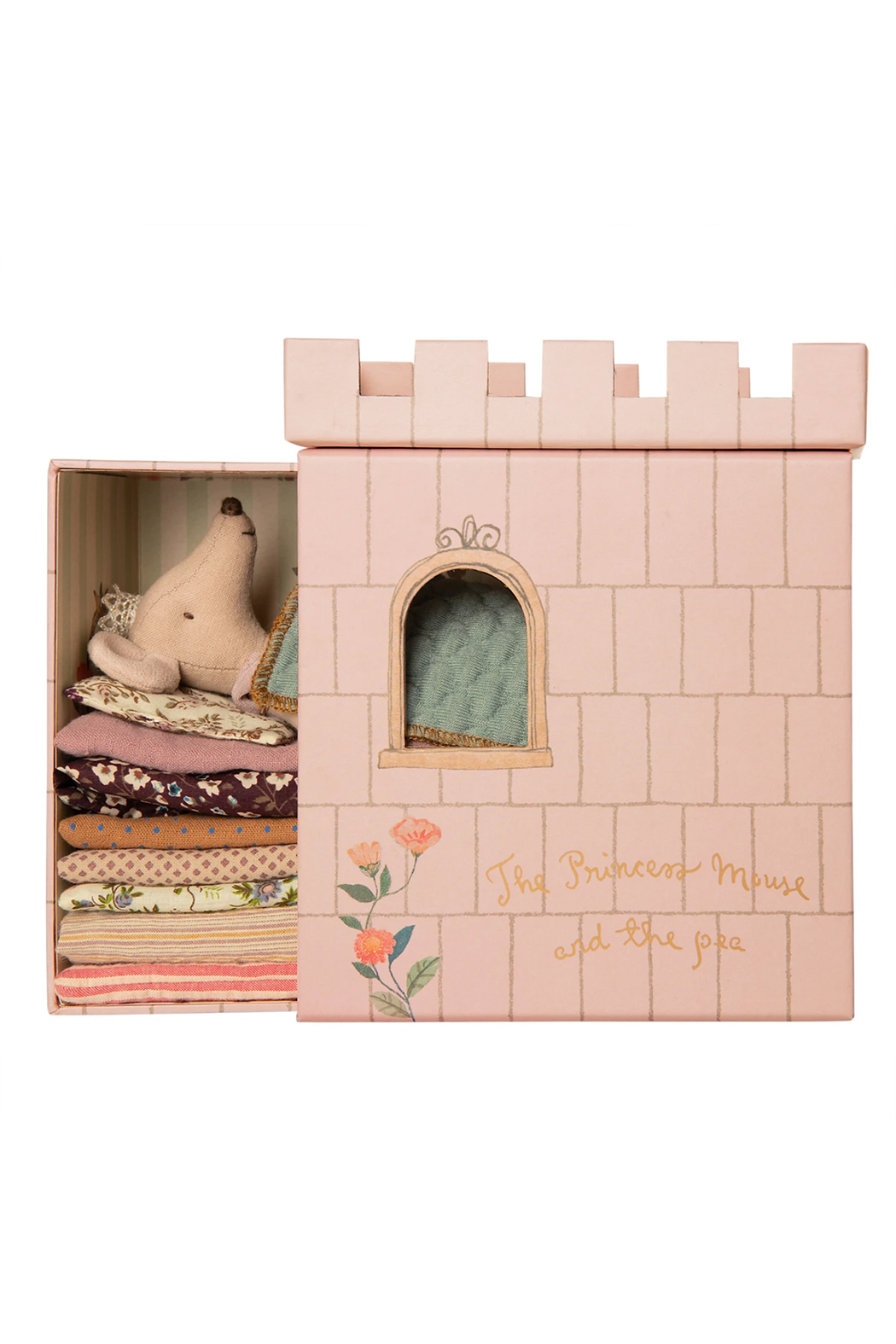 Maileg Princess And The Pea Mouse - Front Full Image