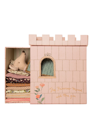 Maileg Princess And The Pea Mouse - Front full body