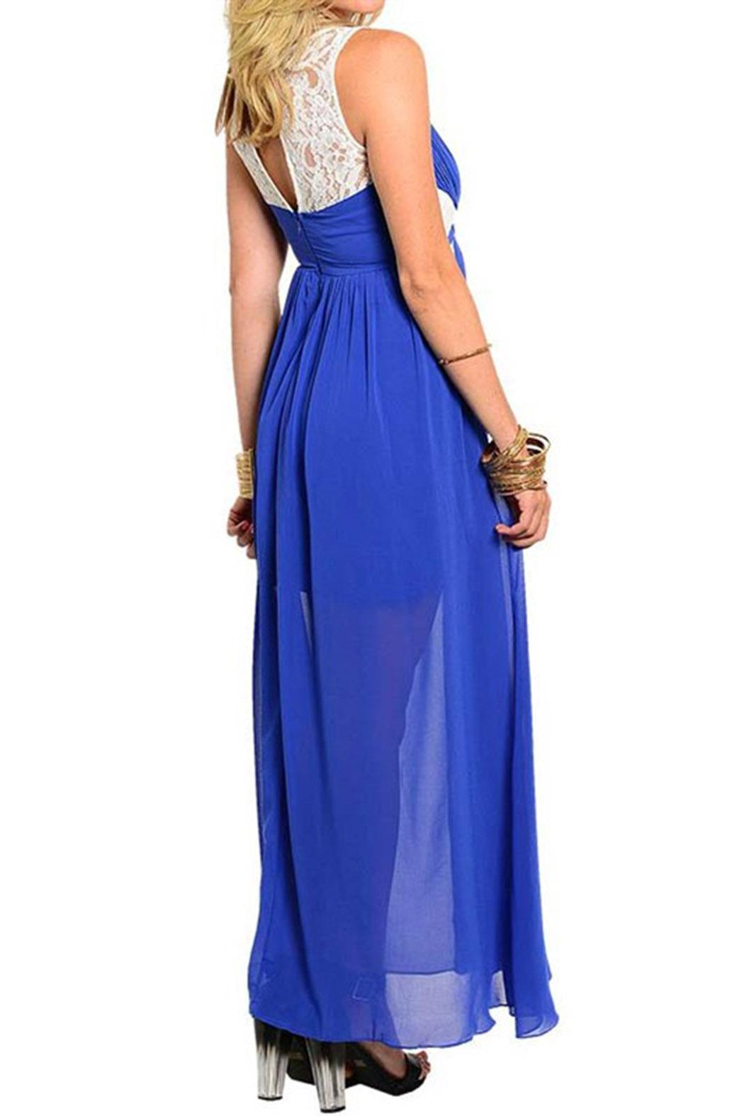 TED Princess Blue Maxi - Front Full Image