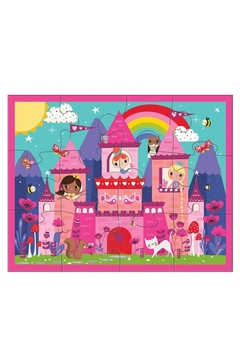 Mudpuppy Princess Castle Pouch-Puzzle - Alternate List Image