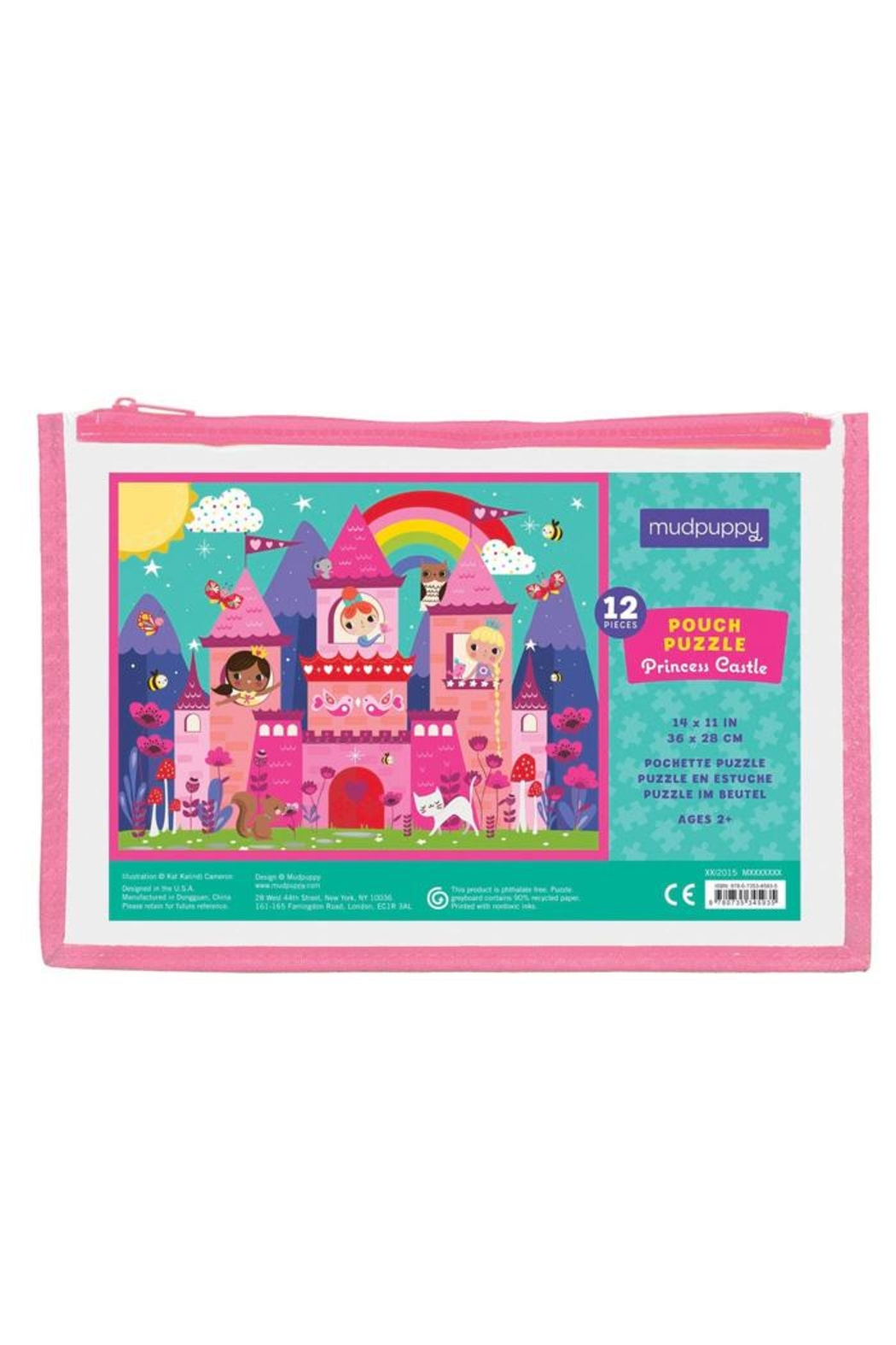 Mudpuppy Princess Castle Pouch-Puzzle - Main Image
