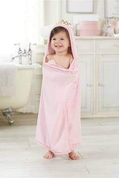 Mud Pie Princess-Crown Hooded Towel - Product List Image