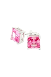 Wild Lilies Jewelry  Princess Cut Studs - Product Mini Image
