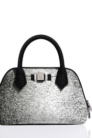 Save My Bag Princess Midi Silver Bag - Front cropped