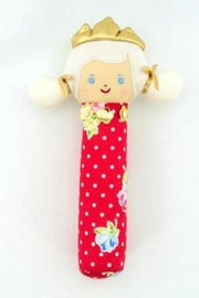 Alimrose Princess Squeker Rattle - Front cropped