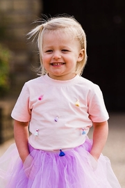 Doe a Dear Princess Tassel Tee - Pink - Product Mini Image