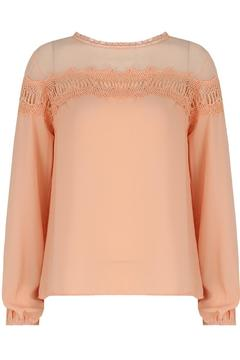 Shoptiques Product: Crochet Embroidery Top
