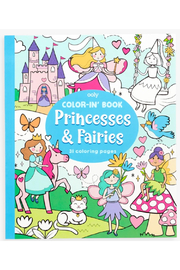 Ooly Princesses and Fairies Coloring Book - Product Mini Image
