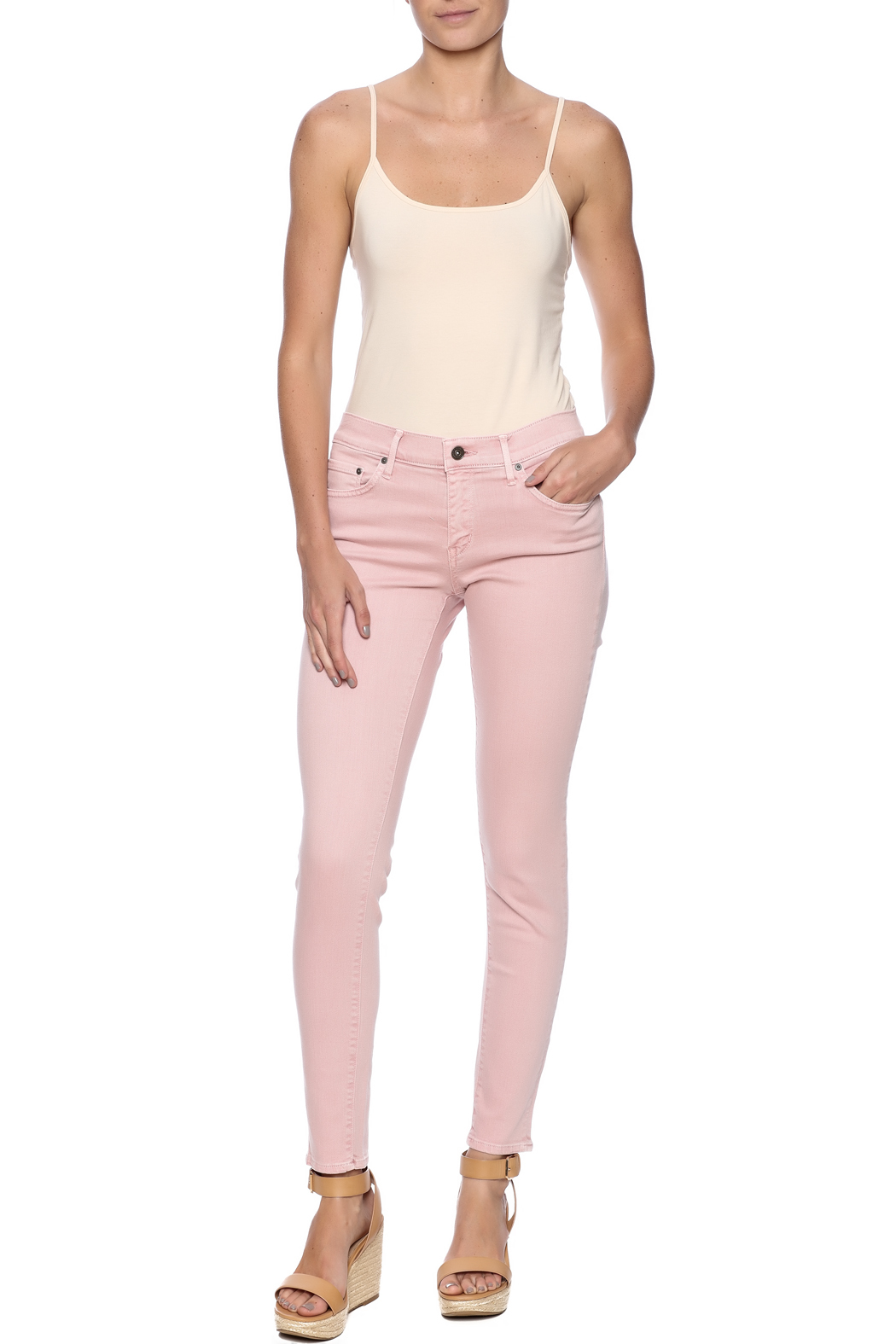 Principle Denim Pretty In Pink Jeans from Texas by The Hen House ...