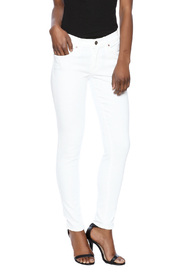 Principle Denim White Skinny Jeans - Product Mini Image
