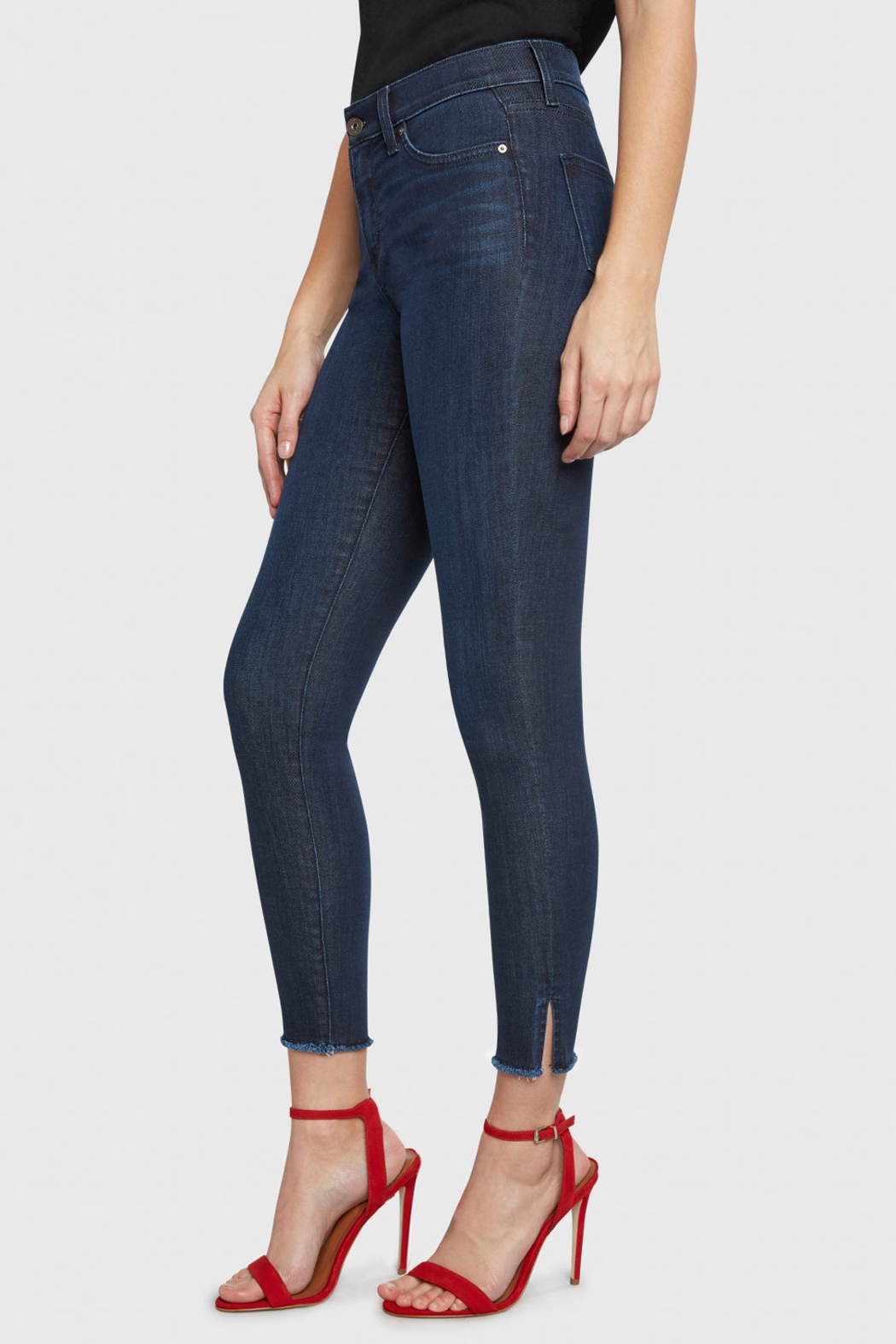 Principle Denim Principle Gem Skinny Jeans - Sweet Dreams - Back Cropped Image