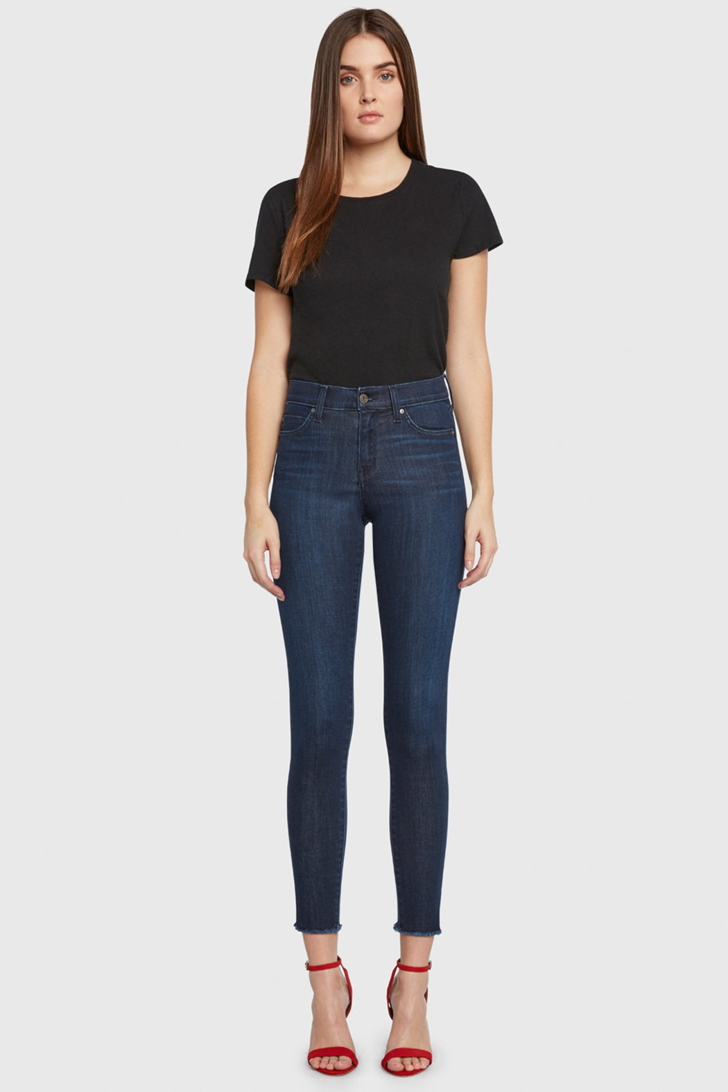 Principle Denim Principle Gem Skinny Jeans - Sweet Dreams - Front Full Image