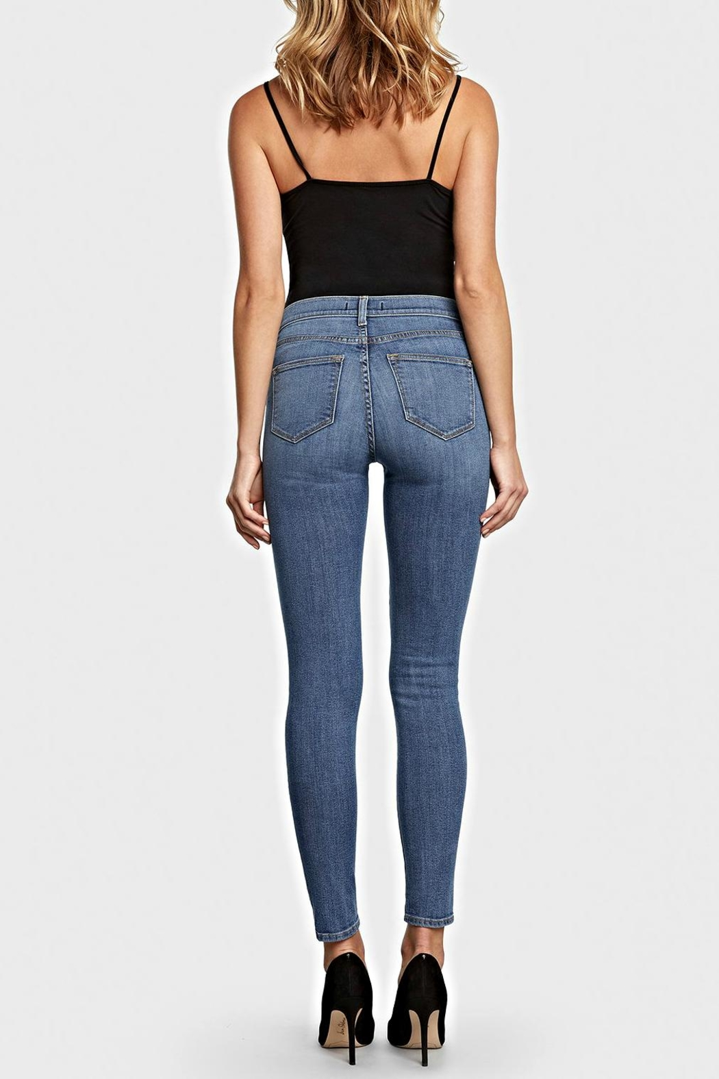 Principle Denim High Wasted Jean - Front Full Image
