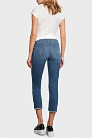 Principle Denim Optimist Crop - Front full body