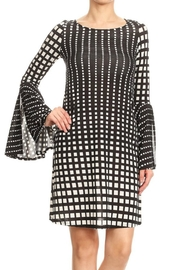 Ariella Print Bell-Sleeve Dress - Product Mini Image