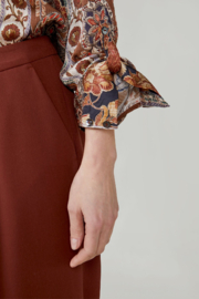 Summum  Print Blouse With Unique Print - Front full body