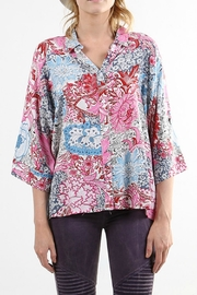 BEULAH STYLE Print Button-Down Top - Product Mini Image