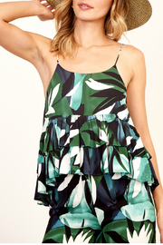 Olivaceous Print cami top - Product Mini Image