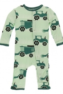 Kickee Pants Print Coverall with Snaps - Alternate List Image