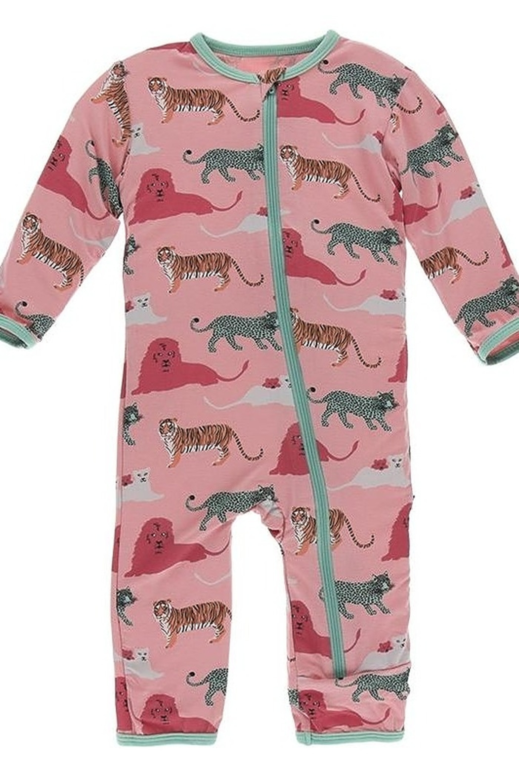 Kickee Pants Print Coverall with Zipper - Main Image